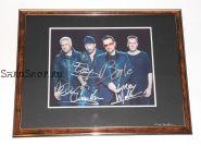 Автографы: U2. Боно, Эдж, Адам Клейтон, Ларри Маллен