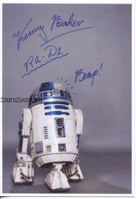Автограф: Кенни Бейкер. Звёздные войны. Редкость